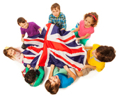 55447008-top-view-of-seven-kids-holding-english-flag-in-the-middle-of-their-circle-isolated-on-white-backgrou[1]